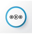 song ui icon symbol premium quality isolated vector image