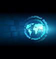 best internet concept global business globe vector image