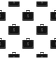 Briefcase full of money pattern flat