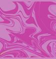 flamingo pink liquid marble background vector image vector image