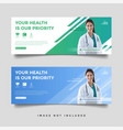 healthcare medical banner promotion template