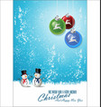 merry christmas background 2 vector image