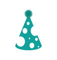 party hat celebration object decoration vector image vector image