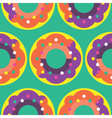 Seamless Donut pattern icon Candy Pattern vector image vector image