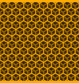 seamless orange cube pattern vector image vector image