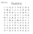 set medical and health icons vector image vector image