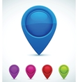 Set of colorful map markers vector | Price: 1 Credit (USD $1)