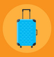 travel bag isolated vector image vector image