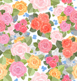 seamless texture with lovely of roses for your vector image