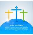 Symbol of Christianity Cross vector image