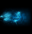 abstract futuristic background technology sci fi vector image vector image