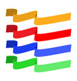 banner color set vector image vector image