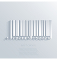 bar code background Eps10 vector image vector image