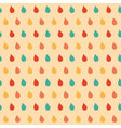 colourful drops seamless pattern vector image vector image