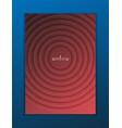 minimal template design for branding advertising vector image