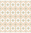 oriental tile seamless pattern arabic moroccan vector image vector image
