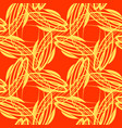 pattern of lemon lines for backgrounds on vector image vector image