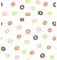 Retro seamless pattern geometric background vector image vector image