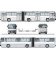 urban bus vector image