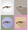 weapon flat icons 06 vector image vector image