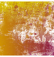 yellow grungy texture vector image vector image