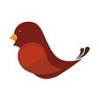 bird love romantic emotions design vector image vector image