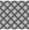 Black White Tartan Diamond Background vector image vector image