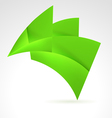 green design element vector image vector image