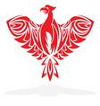 Phoenix resize vector image vector image