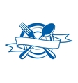 Restaurant banner vector image