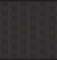 seamless pattern geometric striped vector image