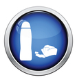 Sex lubricant icon vector image vector image