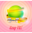 sport and fitness motivational poster vector image