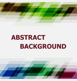 abstract dark tone geometric overlapping design vector image vector image