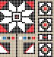 botosani pattern vector image