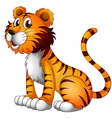 Cartoon tiger vector | Price: 1 Credit (USD $1)