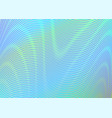 colorful abstract gradient background with moire vector image