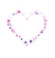 cosmic sparkles stylish design vector image vector image