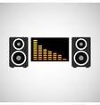 music player design vector image