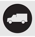 information icon - van vector image