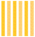 Yellow Line Pattern Background vector image