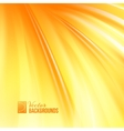 Abstract orange cover with smooth lines vector image vector image