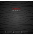 Dark waves corporate background vector image vector image