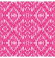 Ethnic pink seamless pattern vector image vector image