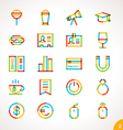 highlighter line icons set 2 vector image vector image