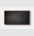 horizontal menu board vector image vector image