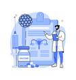 human papillomavirus treatment abstract concept vector image vector image