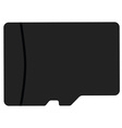 Memory card vector image