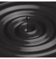 modern crude oil drop background vector image