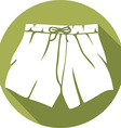 Boxer Shorts Icon vector image vector image